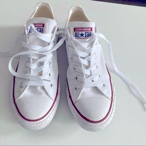 Converse, White, Size 9